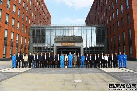 董明珠参观江南造船双方商议将建立战略合作关系