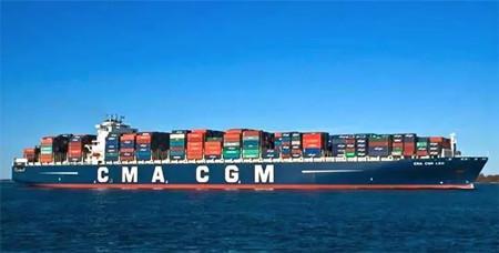 达飞两艘大型集装箱船转入CCS单一船级