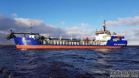 达门宜昌船厂建造耙吸式挖泥船加入船队