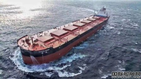 外高桥造船建造全球最大吨位智能船舶完成海试