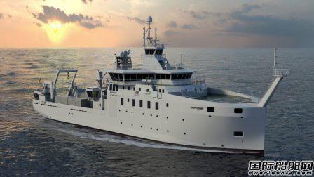 罗罗获比利时新建科考船打包合同