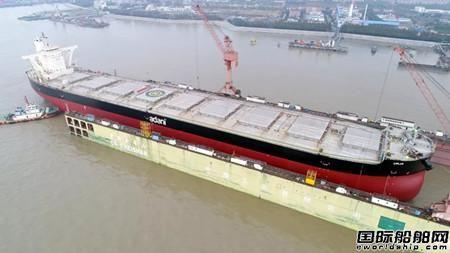 上海中远海运重工压载水系统改造形势喜人