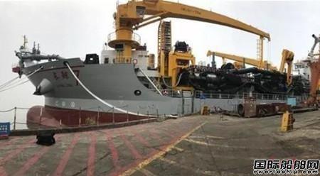 """""""长鲸7""""挖泥船全电力驱动创下亚洲第一"""