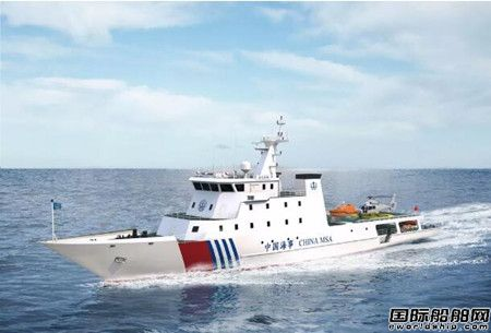 黄埔文冲接获国内首艘电动公务船订单