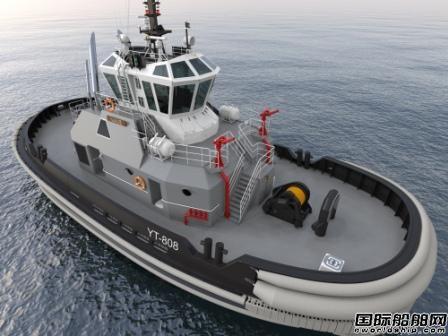 肖特尔为4艘美国海军拖船提供舵桨产品