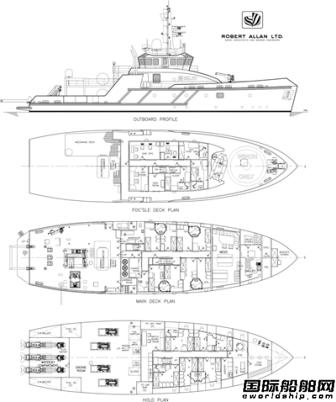 Belov投资建造2艘潜水支援船