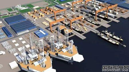"""中国企业中标全球最大""""超级船厂""""工程"""