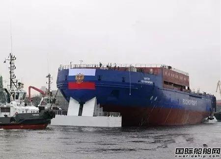 不影响工期?俄罗斯在建最大柴电破冰船起火