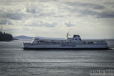 BC Ferries投资30亿美元升级船队和码头