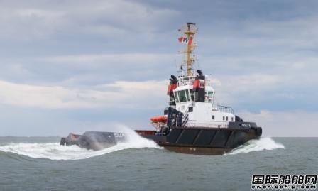 肖特尔为30年船龄拖船升级再延长20年寿命