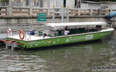Torqeedo助力泰国首艘全电力渡船