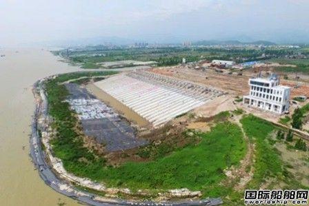 广东威立雅拆船全球最大滑道工程完工
