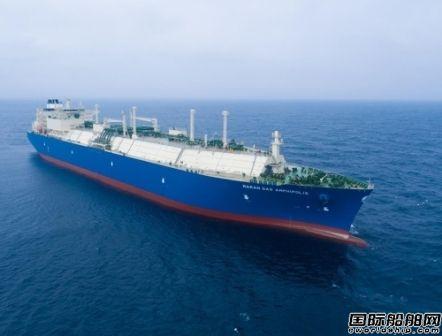 大宇造船再获1艘LNG船订单