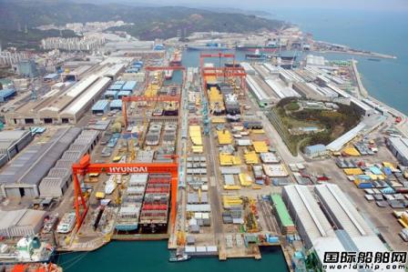 现代重工获4艘苏伊士型油船订单
