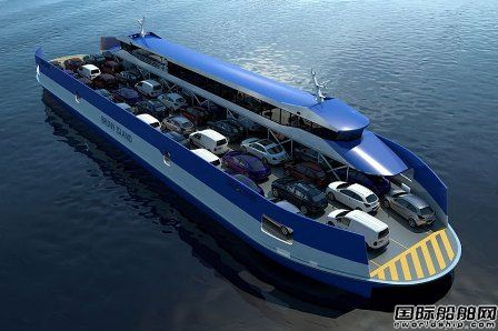 Incat Crowther推出新型双头客滚渡船设计