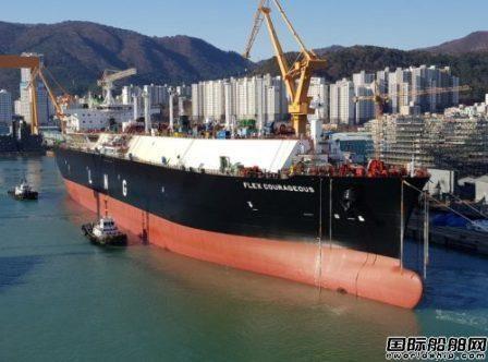 大宇造船交付Flex LNG一艘173400方LNG船