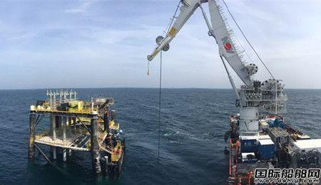 """""""海洋石油289""""完成高难度平台立管安装"""