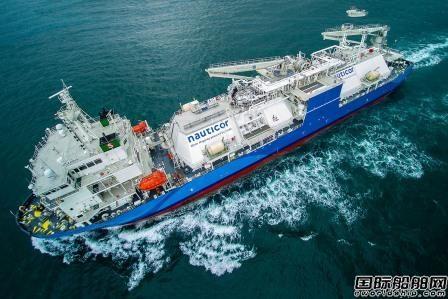 全球最大LNG燃料加注船投入运营