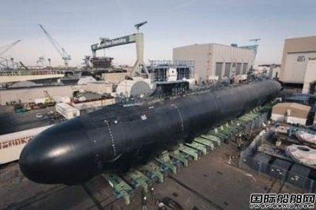 "HII建造弗吉尼亚级核潜艇""Delaware""号下水"