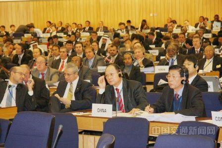 2006年,徐祖远出席国际海事劳工大会