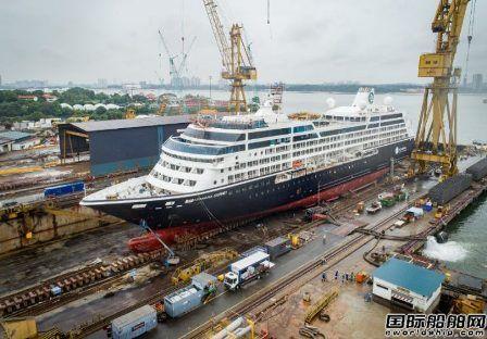 胜科海事完成今年第10个邮轮维修项目