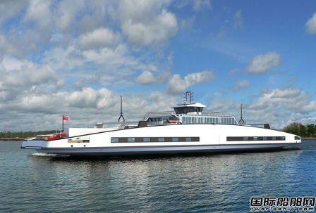 Schottel为加拿大首批双头电动渡船提供动力
