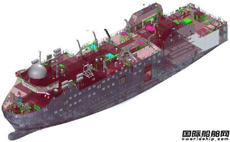 SENER接获1200客客渡船设计合同