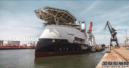 达门Verolme船厂成功改装最先进海上工程船