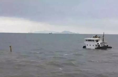 突发!达飞一艘集装箱船珠江口撞沉一艘中国货船