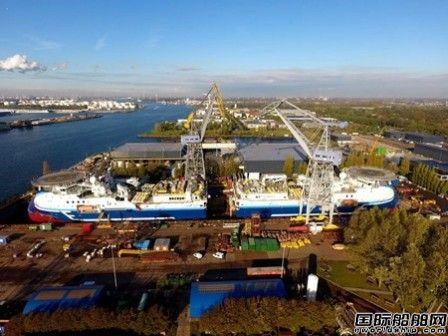 达门修船厂完成两艘最先进地震研究船维护