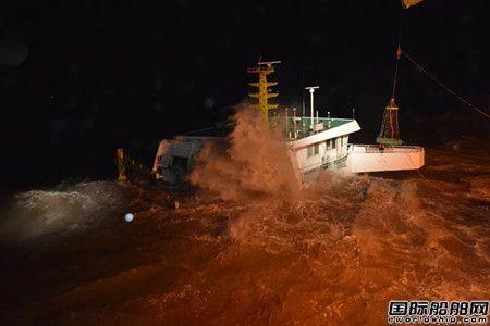 寒潮来袭夜东海海域三船遇险