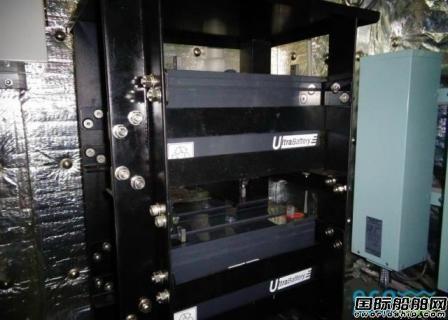 EMP为一艘大型杂货船安装新电池组