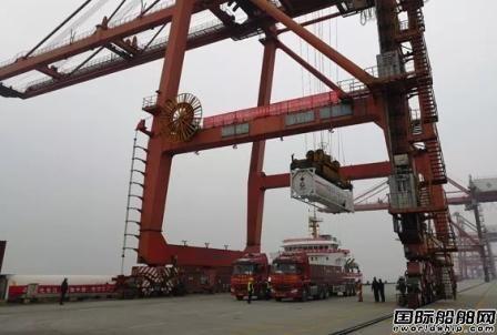 通海航运完成国内首次LNG罐箱江海联运