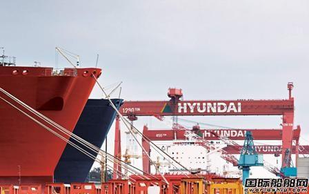 """订单创新高,韩国造船业复苏""""重生"""""""