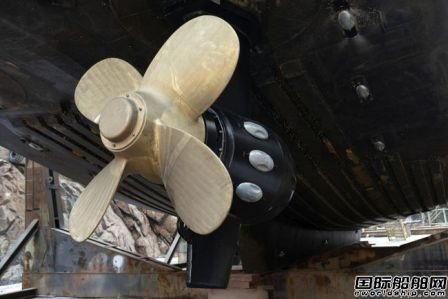 Aker Arctic首次将青铜螺旋桨用于冰级船