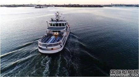 全球首次~又一艘无人驾驶客船通过远程海试