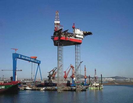 中国船级社完成国内首例大桩靴适应性改造检验