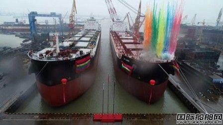 开门红!中船澄西交付2019年首船