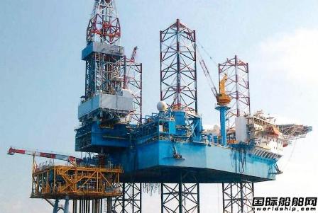 日本钻井公司报废一座自升式钻井平台