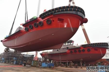镇江船厂一天完成两大生产节点