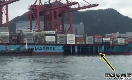 马士基证实集装箱船在香港加油时发生燃油泄露