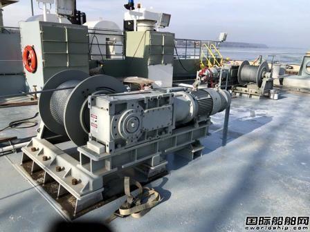 Schoellhorn-Albrecht公司交付甲板机械包