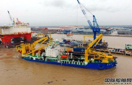 """亚洲最大重型自航绞吸船""""天鲲""""号完成大考"""