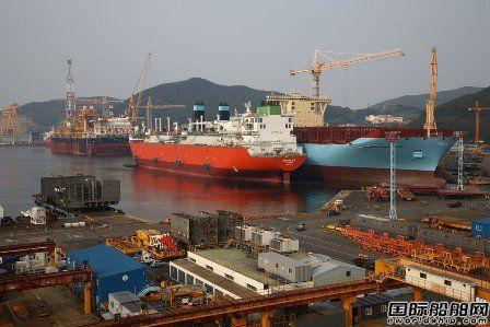 中国完败!韩国造船业重回世界第一