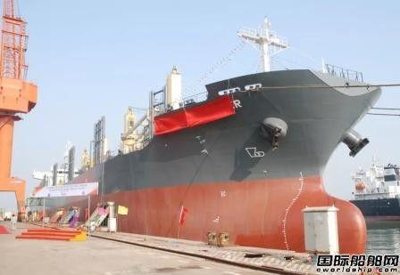 三进船业交付Oldendorff一艘36000吨散货船
