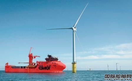 Vestdavit吊艇架3艘获新造风电运维船订单