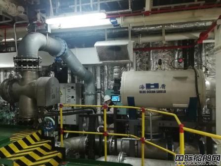 威海科技交付两艘船压载水系统改装项目