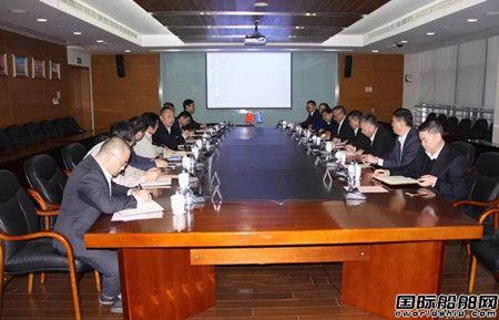 中国船级社与中船集团深化国产大型邮轮合作