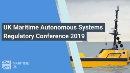 2019海事无人驾驶监管会议即将在英国召开