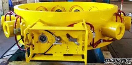 中国船级社检验完成国产首套导管架裙桩夹桩器